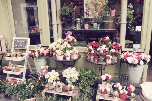 Blumenladen-Paris
